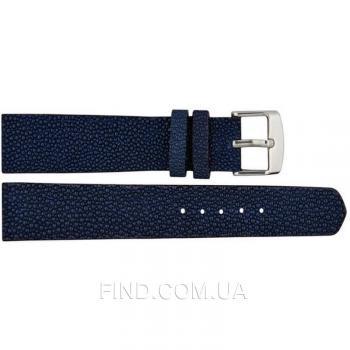 Ремешок для часов из кожи ската (STWS 01 Dark Blue)