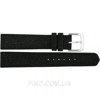 Ремешок для часов из кожи ската (STWS 01 Black)
