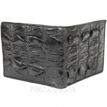 Портмоне из кожи крокодила, хвостовая часть (ALM 03 BT Black)