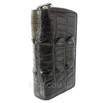 Сумка/купюрник из кожи крокодила (ZAM 15 T Black)