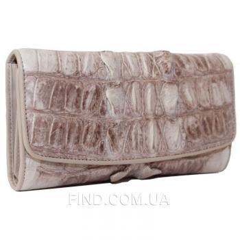 Женский кошелек из кожи крокодила (PCM 03 T Natural)