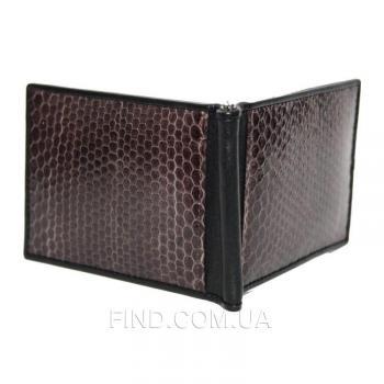 Зажим для купюр из кожи змеи (SNMC 01 Brown)