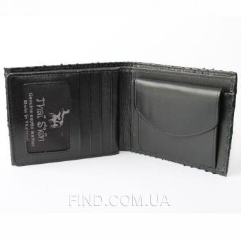 Портмоне из кожи питона (PT 65 Black)
