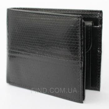 Мужской кошелек из кожи морской змеи (SN 65 Black)
