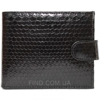 Мужской кошелек из кожи морской змеи (SN 96 Black)