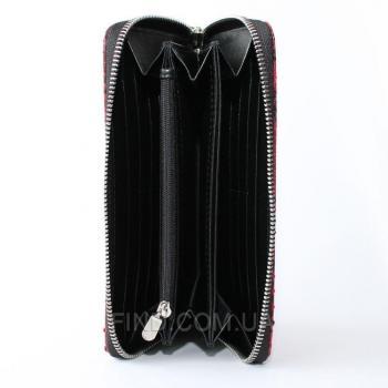 Женский кошелек из кожи питона (PT 11 EX Red)