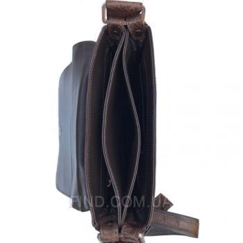 Мужская сумка из кожи крокодила (DCM 1608 Brown)