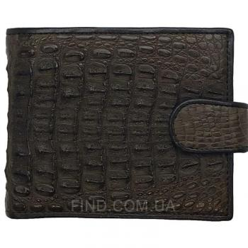 Портмоне из кожи сиамского крокодила (ALM 03-2 SK Brown)
