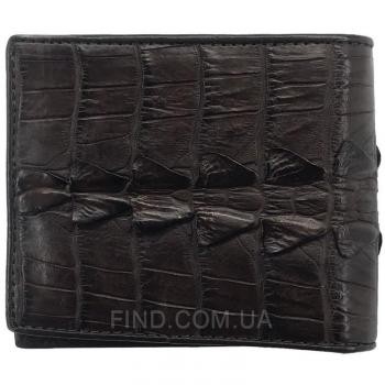 Мужское портмоне из кожи крокодила (ALM 03 BT Brown)