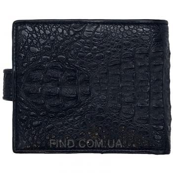Портмоне из кожи сиамского крокодила (ALM 03-2 SK Black)