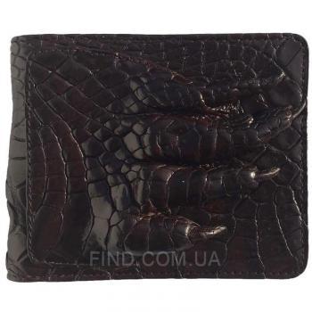 Портмоне из кожи сиамского крокодила (ALM 03-2 PL Brown)