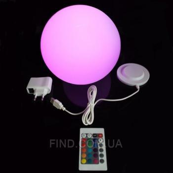 Беспроводной светодиодный светильник Ball25W с пультом