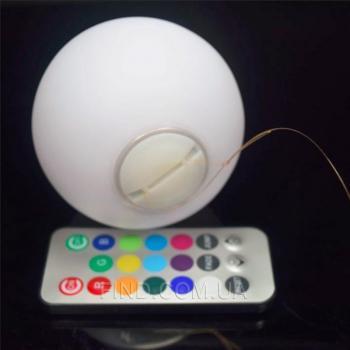 Плавающий светодиодный светильник Orb08W6 на батарейках с пультом ДУ (набор 6 шт.)