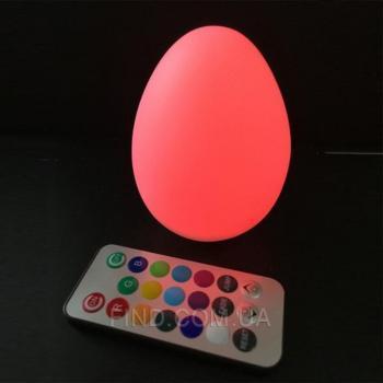 Светодиодный светильник Egg79W6 на батарейках с пультом ДУ (набор 6 шт.)