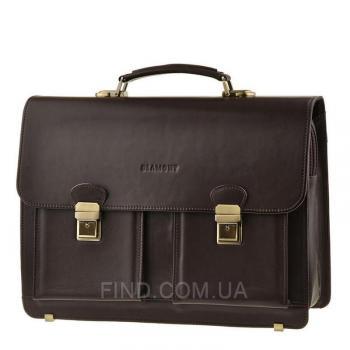 Мужской кожаный портфель Blamont (Bn050C)