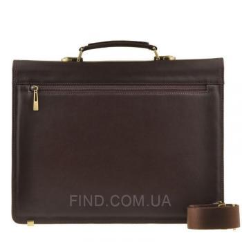 Мужской кожаный портфель Blamont (Bn063C)