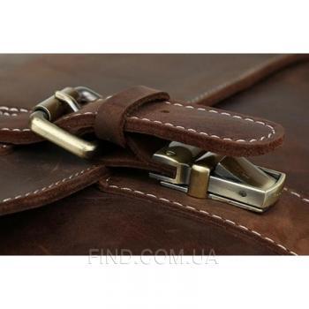 Мужской кожаный портфель TIDING BAG (T8069DB)