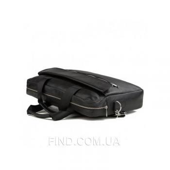 Черная мужская кожаная сумка Bexhill (Bx1127A)