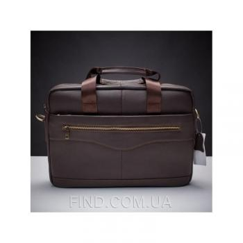 Коричневая мужская кожаная сумка Bexhill (Bx1128C)