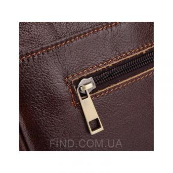 Мужская коричневая кожаная сумка Bexhill (Bx1131C)