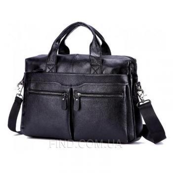 Мужская черная сумка Bexhill (A25-7122A)