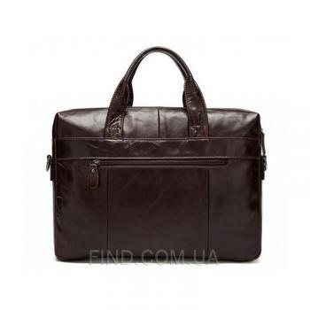 Коричневая мужская кожаная сумка Bexhill (Bx9005C)
