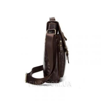 Коричневый кожаный мессенджер Bexhill (Bx1292C)