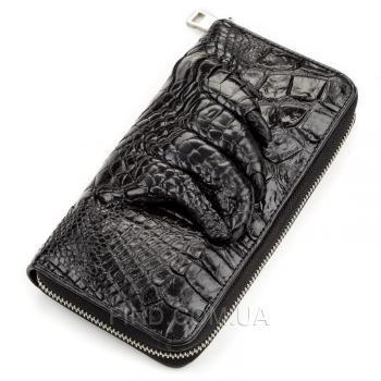 Мужской клатч из натуральной кожи крокодила (18172)