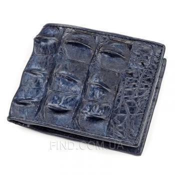 Мужское портмоне из натуральной кожи крокодила (18162)