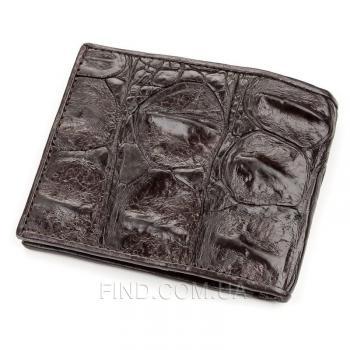 Мужское портмоне из натуральной кожи крокодила (18188)
