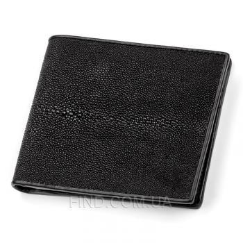 Мужской кошелек из кожи морского ската (18001)