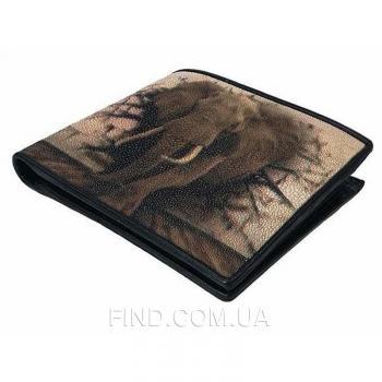 Мужской кошелек из кожи морского ската (18127)