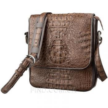 Мужская сумка из натуральной кожи крокодила (18262)