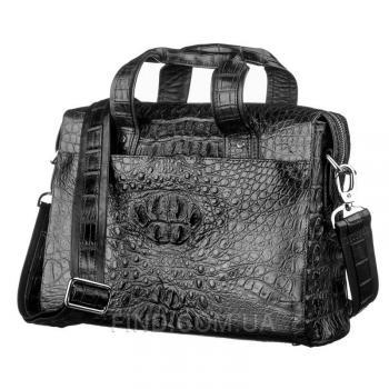 Мужская сумка из натуральной кожи крокодила (18022)